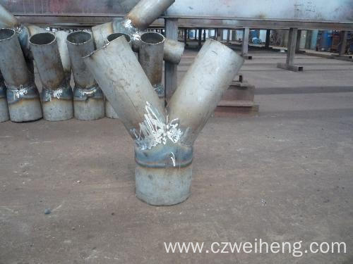 Stainless Steel 4-way Cross Pipe Fitting