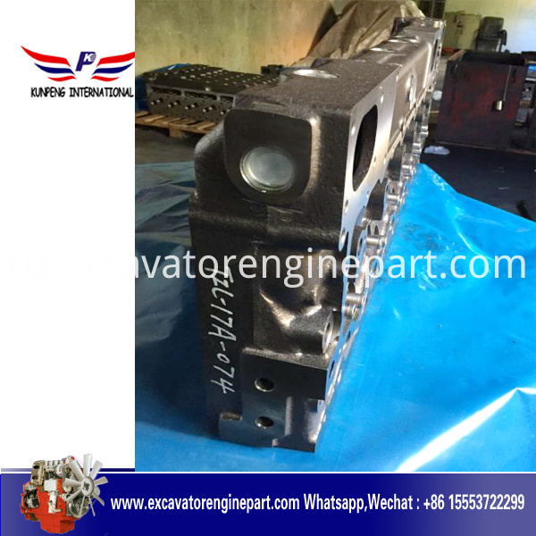 Cylinder head 7N8866 for SHANGHAI DONGFENG SHANGCHAI C6121 engine
