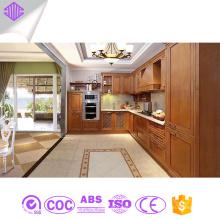 armário de cozinha design simples armário de cozinha em madeira maciça