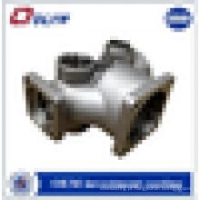 Usinagem personalizada de peças de reposição de máquinas de fundição de cera perdida de aço