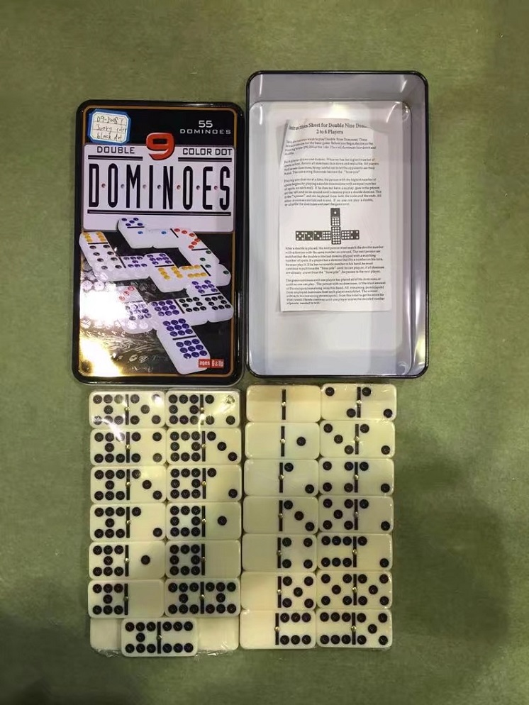 Double Nine Domino