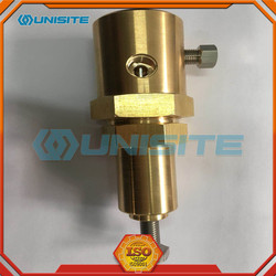Precision machined pilot valve