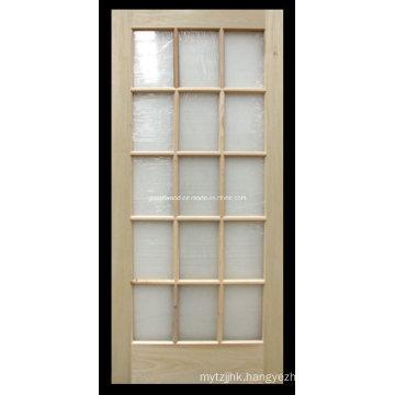 15 Lite High Quality Wood Front Door