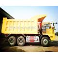 Camión 6x4 50T Sinotruk HOWO minería / HOWO camión minero / 70T HOWO camión minero / 70T HOWO camión volquete minería