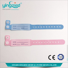 Bracelet d'identification patient jetable