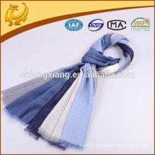 Großhandel China Plaid Große 100% Cashmere Winter Schal für Frauen