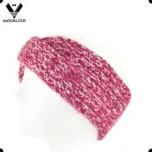 Senhora Moda Inverno Cruz Quente Cross Knitted Crochet