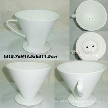 6.12inch фарфоровый кофе-фильтр для BS130521A