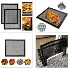 Tecido de malha aberta com revestimento de PTFE para tapete de churrasco