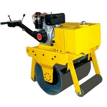 Hand - Supported Heavy Single Wheel Road Roller