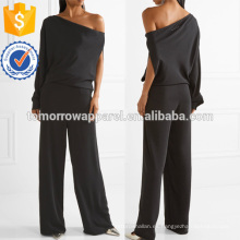 Un hombro Crepe De Chine Jumpsuit Manufacture Wholesale Fashion Women Apparel (TA30012J)