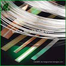 elektrische Bauteile Silber Kupfer Bimetall-Band