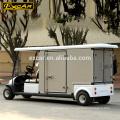 2 asientos Certificación CE precios carrito de golf eléctrico con caja de carga personalizada