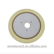 piezoelectric bimorph elements 2.0khz 31mm double side brass Bimorph Plate