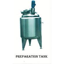 Tanque del acero inoxidable de la comida 2017, tanque de acero inoxidable de SUS304 1000 galones, diseño del reactor del tanque agitado continuo de GMP