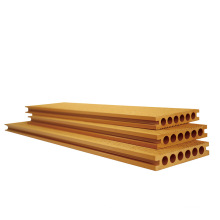 capped design extrusion wood plastic composite co-extrusion wpc decking