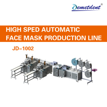 Full Automatic Disposable Mask Making Machine