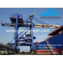 Descargador de barcos de cemento, Descargador de barcos de cuchara de gancho, Descargador de buques neumático