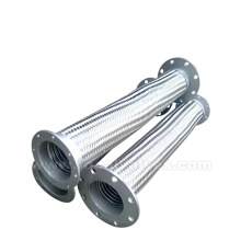 Rostfritt stål flätad slang