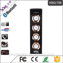 BBQ KBQ-706 battery 6000mAh 40W audio hot selling Tower Karoake system Bluetooth speaker retro boombox