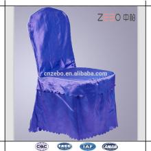 Custom Solid Color Hotel Conveniente Casamento Usado Cadeira Covers para venda