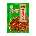 Spicy hot pot plantaardige olie bodemmateriaal