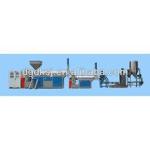 Machine de pelletisation de réutilisation en plastique de coupe chaude d'anneau d'eau
