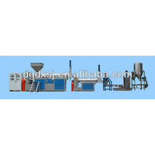 Water ring hot cutting Plastic Recycling Pelletizing Machine