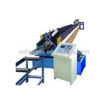 El rodillo frío que forma el perno prisionero de la máquina y el perfil que forma el rodillo que forma la máquina la luz que calibra la máquina que enmarca del acero