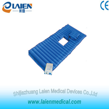 Medical air mattress overly with toilet hole for long time in bed patients