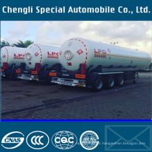3axles 45000liters propano líquido gás tanque semireboque