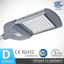 60W hoch effiziente LED-Straßenbeleuchtung 3 Jahre Garantie
