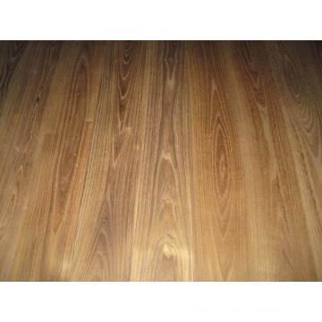 Smooth Wax Oil China Teak (robinia) Hardwood Floors