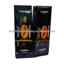 Con o sin cremallera Papel de café puro o Al o Plástico de diferentes tamaños Bolsas de embalaje de impresión especial