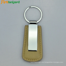 Leder Schlüsselanhänger Halter mit Promotion-Logo