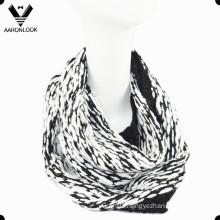 Latest Acrylic Big Belly Yarn Knitted Snood