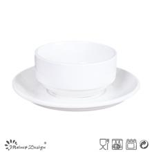 Tazones de cerámica porcelana de diferentes tamaños para el hotel y el restaurante