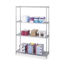 4 Tiers Home Cozinha Garagem Office Wire Shelving Rack de armazenamento
