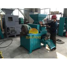 Mineral de hierro multas máquina de prensa de la briqueta