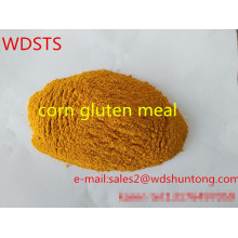 Refeição de glúten de milho de proteína em pó de alta qualidade para aves de capoeira