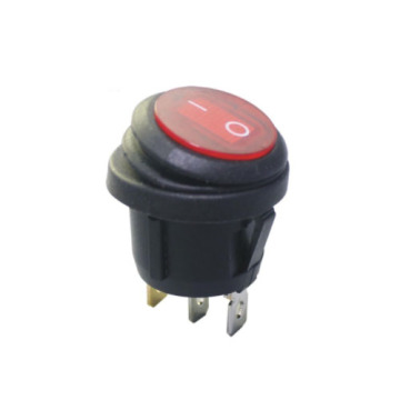 FBWPS-2828 Single Pole WaterProof Round Rocker Switch