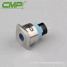 Momentary or Latching 22mm Ring LED 12V Push Button Switch