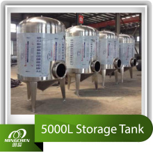 5000L Edelstahl Lagerung Tank