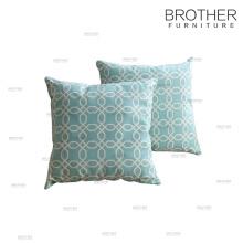 Patrón de impresión de venta caliente lino almohada cojín sofá almohadas y cojín