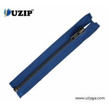 5# Supplier Navy Blue Cotton Tape Dark Bronze Zipper with Opened End