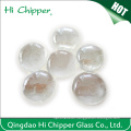 Clear Glass Gemstone Fire Pit