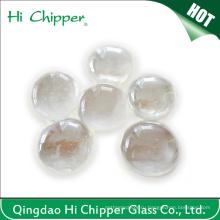 Прозрачные стеклянные бусы