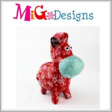 Ome Charming Cartoon Ceramic Piggy Bank