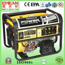 Jogo de gerador da gasolina da energia eléctrica de 2.5kVA-7.5kVA