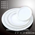 Placa de jantar de porcelana de venda directa do Manufactory com Lastest projetado